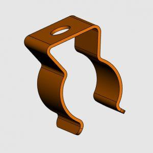 CAD-Daten Federklammer von Gutekunst Formfedern