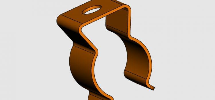 CAD-Daten Federklammern von Gutekunst Formfedern
