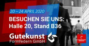 Hannover Messe 2020 - Gutekunst Formfedern