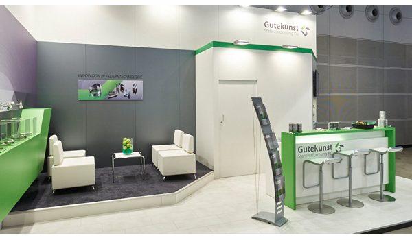 Messestand - Gutekunst Formfedern GmbH