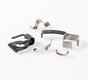 Metallclips zum Fixieren und Befestigen