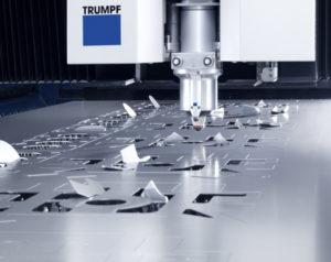 Laserschneiden Aluminium