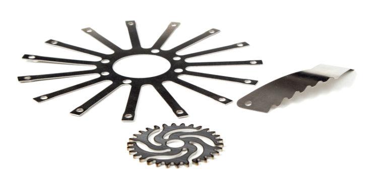 Edelstahl Laserschneiden und Laserteile von Gutekunst Formfedern