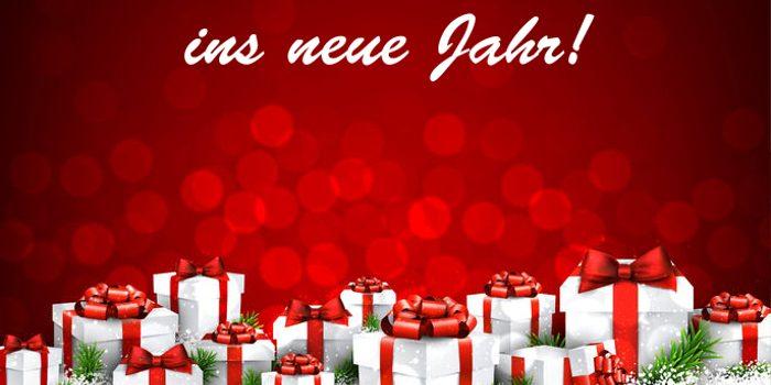 Schöne Weihnachten und einen guten Rutsch!
