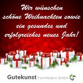 Wir wünschen schöne Weihnachten …