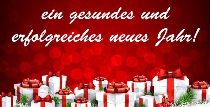Schöne Weihnachten sowie ein gesundes und erfolgreiches neues Jahr von Gutekunst Formfedern!